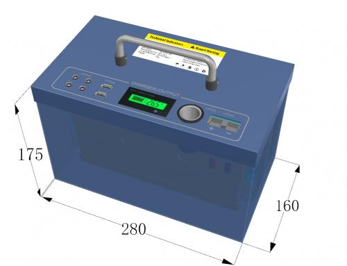 ES-12100 battery packs